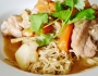 Chicken Laksa with eggnoodles