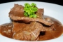 Banquet Stlye – Beef with MushroomSauce
