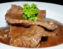 Banquet Stlye – Beef with Mushroom Sauce
