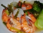 Sinigang na hipon(shrimp in tamarind soup)