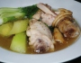 Tinolang Manok (Hot Chicken Ginger Soup)