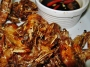 Crispy Shrimps with soy and vinegar sauce