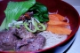 Beef Flank with Egg Noodle Soup