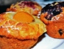 Muffins – Apricot and cream cheese