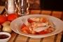 Kinamatisang Isda(Salmon fins in tomatoes andonions)