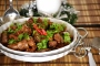 Stir-fry Pork Spareribs in Black Bean Sauce