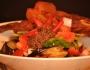 Eggplant Salad with shrimppaste