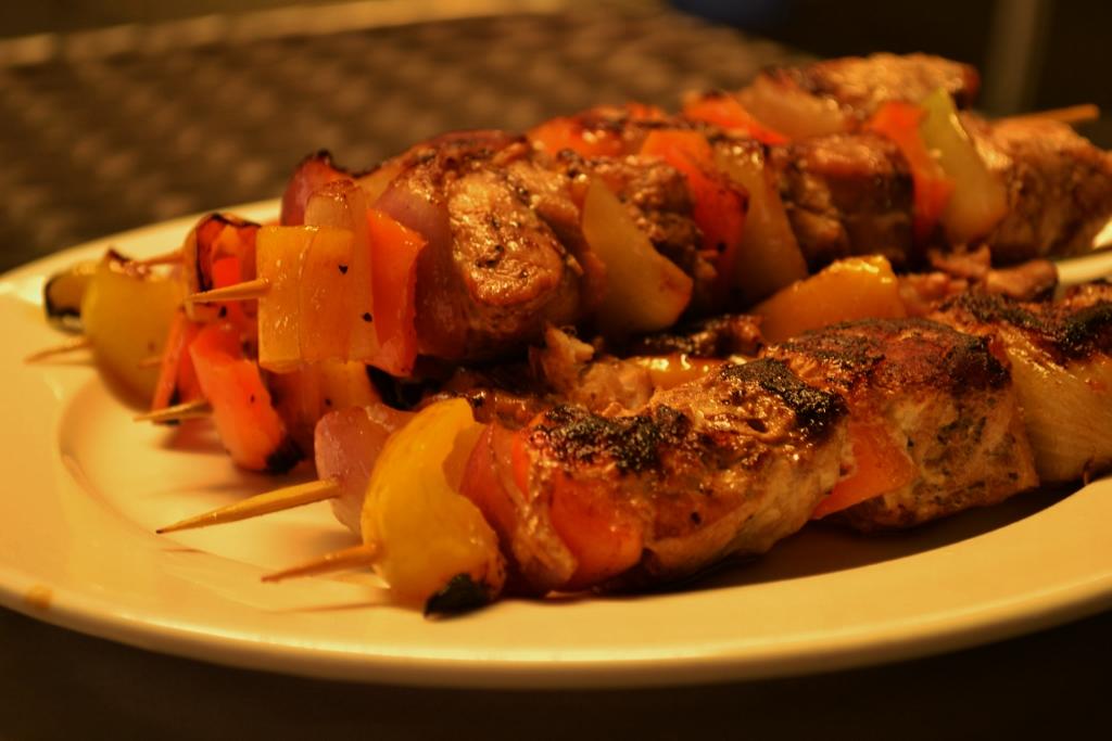 Fish kebabs  Foodtripby: nors vargas